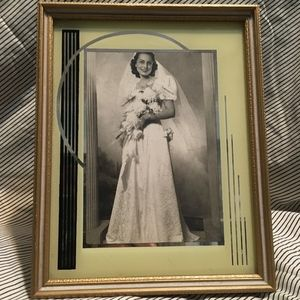 Vintage Art Deco Frame and Photo